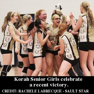 Korah Girls Volleyball Team Wins NOSSA